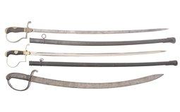 Three German Military Style Swords