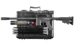 Airrow Model A8S Stealth Archery Rifle with Case and Accessories
