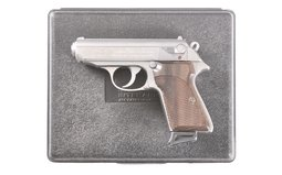 Walther PPK S Pistol 9 mm Kurz (380 Auto)