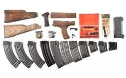 Group of Assorted Firearm Parts