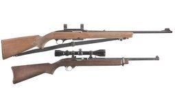 Winchester Model 100 And  Ruger .44  With Scope