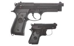 Beretta 92FS And Beretta 950BS