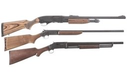 Three Shotguns