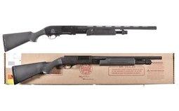 Two Slide Action Shotguns