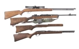 Sears & Roebuck Model 25, Ruger Ranch and Marlin Glenfield 75C