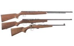 Three Long Guns