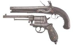 Two European Handguns