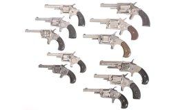 Eleven Spur Trigger Revolvers