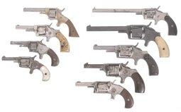 Nine Spur Trigger Revolvers