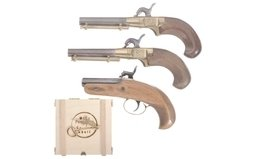 Four Contemporary Single Shot Pistols