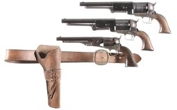 Three Italian Contemporary Percussion Revolvers