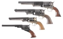 Four Contemporary Percussion Revolvers
