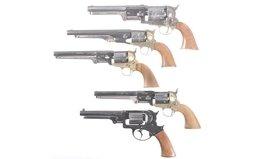 Five Contemporary Percussion Revolvers