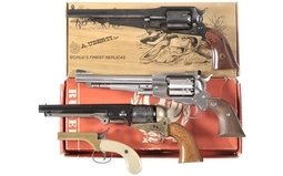 Four Contemporary Percussion Handguns