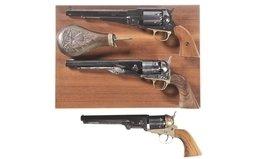 Three Contemporary Percussion Revolvers