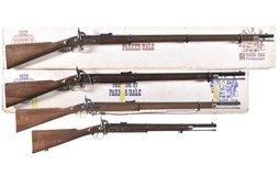 Four Parker Hale Contemporary Percussion Rifles