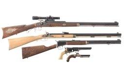 Five Contemporary Percussion Firearms