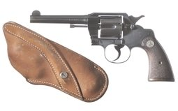 Colt Official Police Revolver 38 special