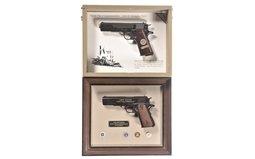Two Commemorative Pistols