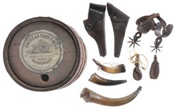 Assorted Firearm and Blackpowder Accessories