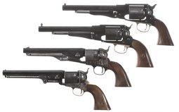 Four Contemporary Percussion Revolvers
