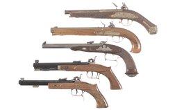 Five Contemporary Pistols