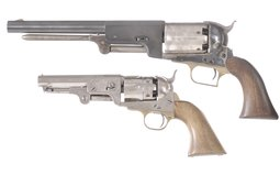 Two Contemporary Percussion Revolvers