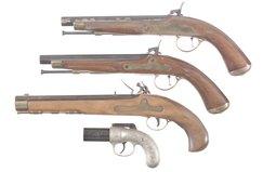 Four Contemporary Handguns