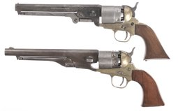 Two Contemporary Percussion Revolvers