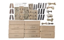 Group of Assorted Handgun Accessories and Reproduction Boxes