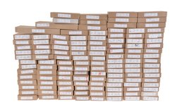 Large Assortment of Reproduction Handgun Boxes