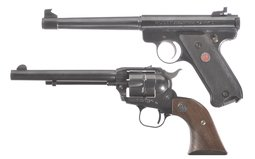 Two Ruger Handguns