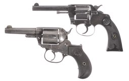 Two Colt Revolvers