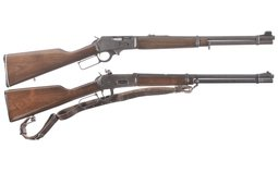 Two Lever Action Rifles