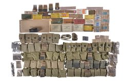 Group of Assorted Ammunition and Military Accessories