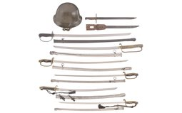 Group of Assorted Japanese Military Items