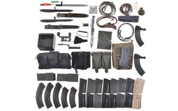 Group of Assorted Firearm Parts and Accessories
