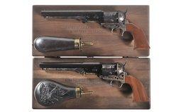 Two Cased Colt Commemorative Percussion Revolvers
