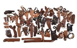 Group of Assorted Leather Holsters and Belts