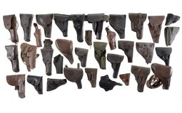 Group of Thirty-Four Assorted Holsters