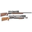 Two BSA Martini-International Single Shot Rifles