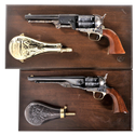 Two Colt Black Powder Series Percussion Revolvers with Cases