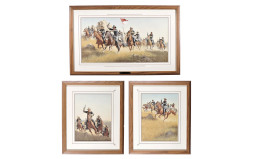 Three Framed Prints of