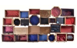 Twenty-Five Custom Pistol Cases with One Wine Box