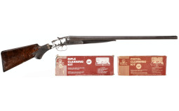 Colt Model 1883 Double Barrel Shotgun with Cleaning Kits