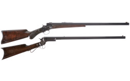 Two Single Shot Rifles