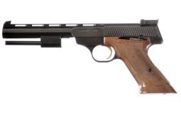 Belgian Browning Medalist Semi-Automatic Pistol