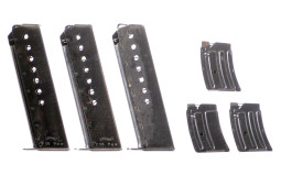 Six Assorted Firearm Magazines