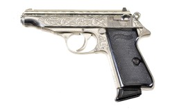 Engraved Walther PPK/S Style Semi-Automatic Pistol