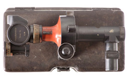 WWI-Era Krupp Field Gun Scope with Case